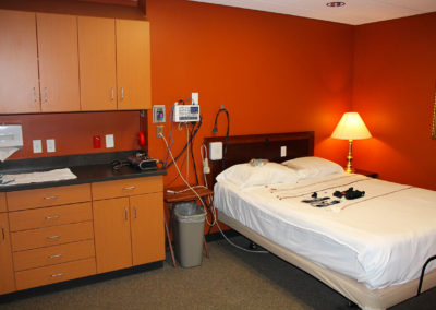 sleep study area,sleep study bedroom,thedacare,fox valley pulmonary doctors, internal medicine doctor near me, Sleep Medicine, lung cancer symptoms, sleep deprivation, allergy and asthma, bronchial asthma, find a doctor