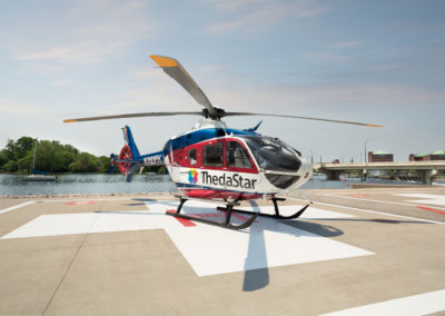 ThedaStar Air Medical aircraft,helicopter,flight for life, Fox Valley Pulmonary Medicine, foxvalleypulmonarymedicine.com, apnea, sleep disorders, pulmonary medicine